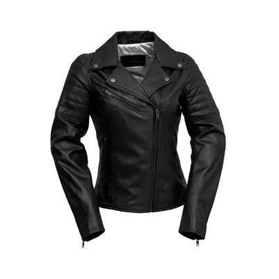 Princess Black Leather Jacket