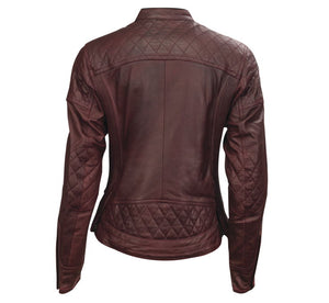 Roland Sands Design Women's Oxblood Riot Leather Jacket