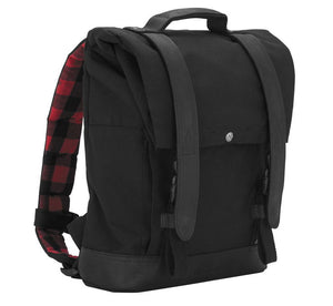 Burly Brand Black Backpack