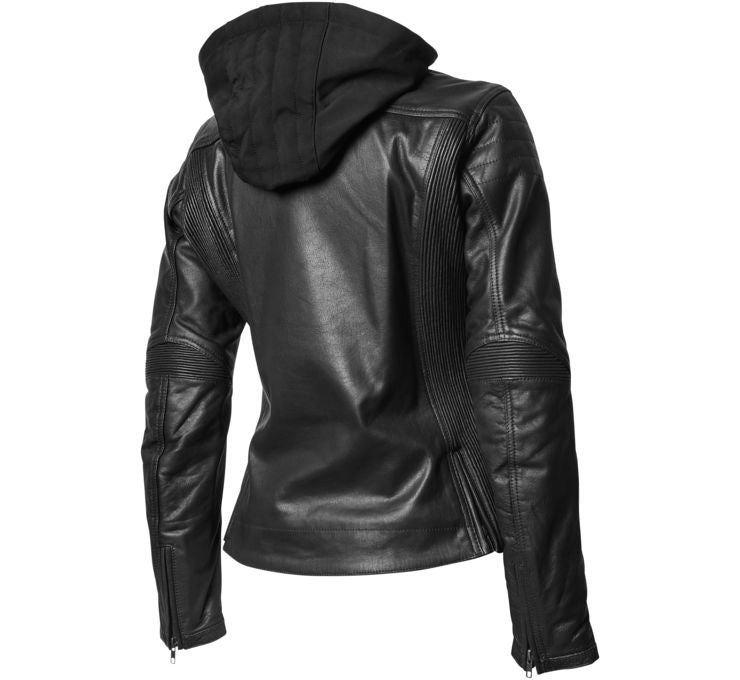Roland Sands Design Women's MIA Leather Jacket Black
