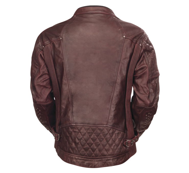 Roland Sands Design Men's Oxblood Clash Leather Jacket