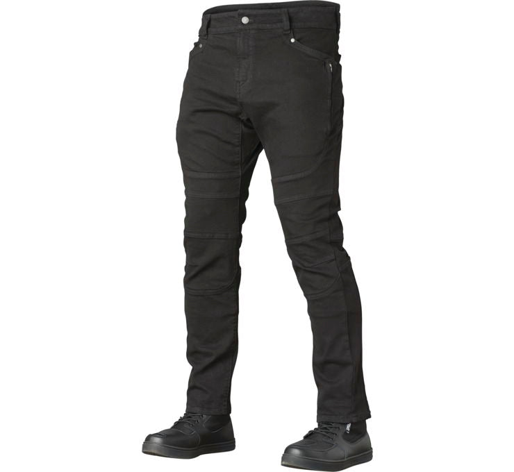 Havoc Taper Fit Riding Jean Black