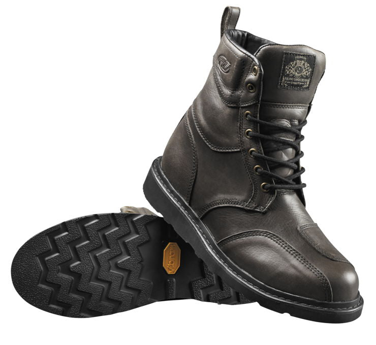 Roland Sands Grey Mojave Boots