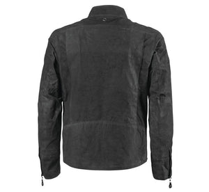Roland Sands Design Men's Black Duro Perforated Waxed Cotton Jacket