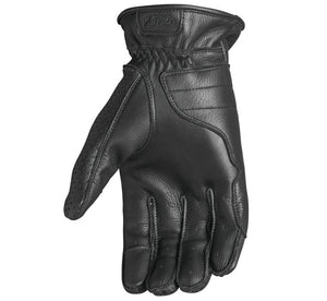 Black Perforated Wellington Gloves