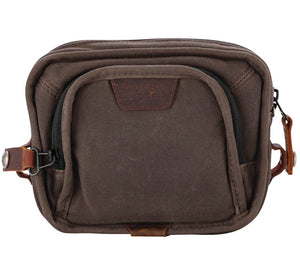 Voyager Handlebar Bag Brown
