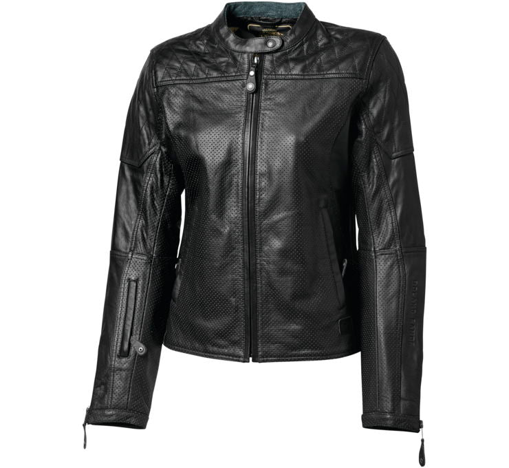 Roland Sands Perforated Black Trinity Jacket