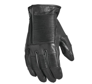 Black Bronzo Motorcycle Gloves