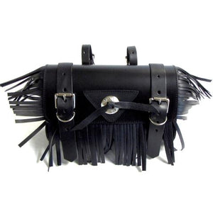 Fringe Concho Motorcycle Tool Pouch