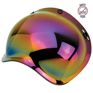 Biltwell Rainbow Mirror Anti Fog Bubble Shield