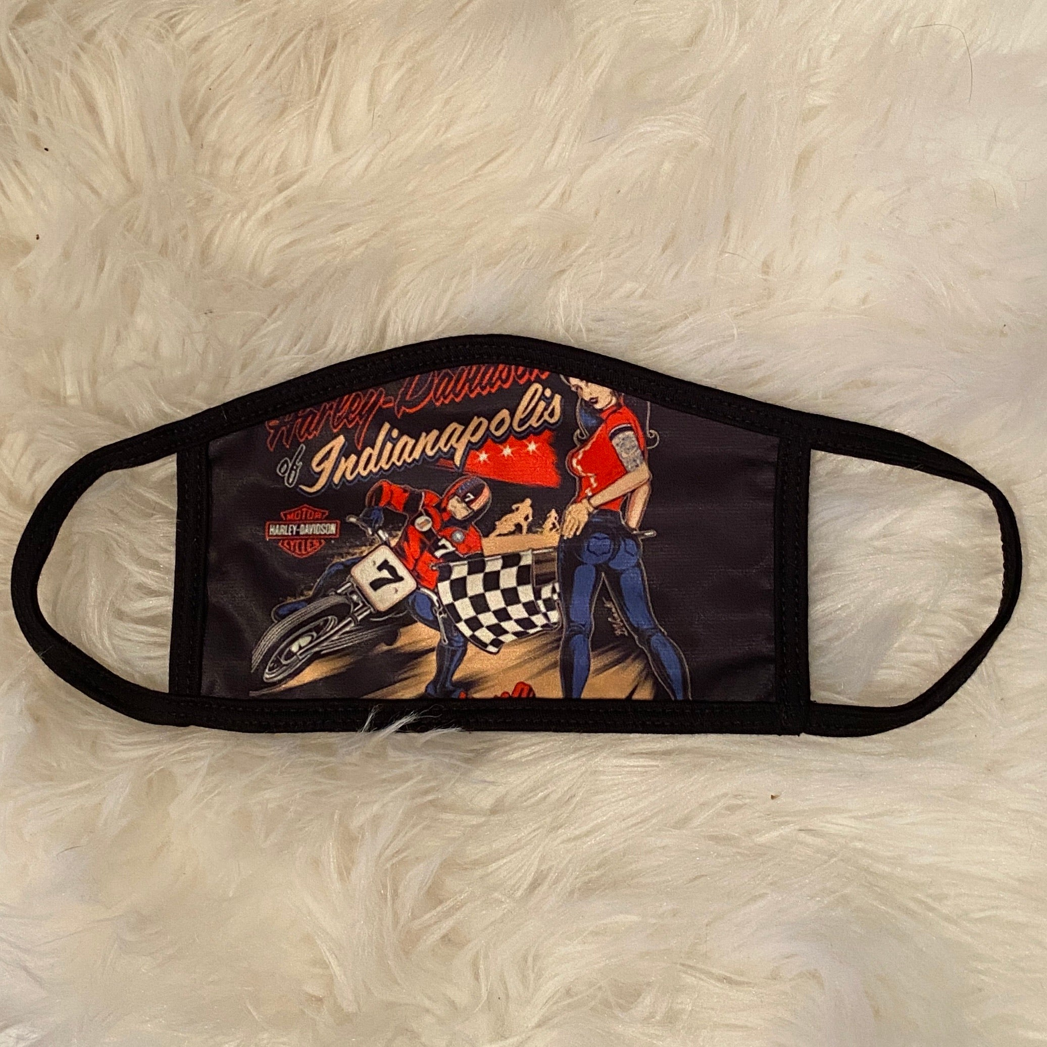 Flat Track Face Mask