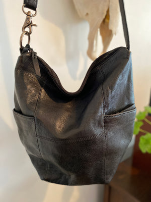 Black Gypsy Convertible Sling Bag