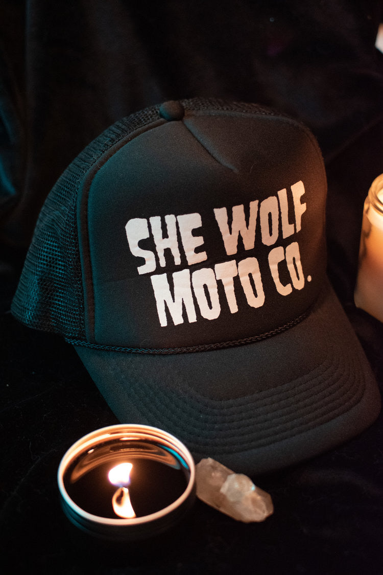 She Wolf Moto Co Snapback