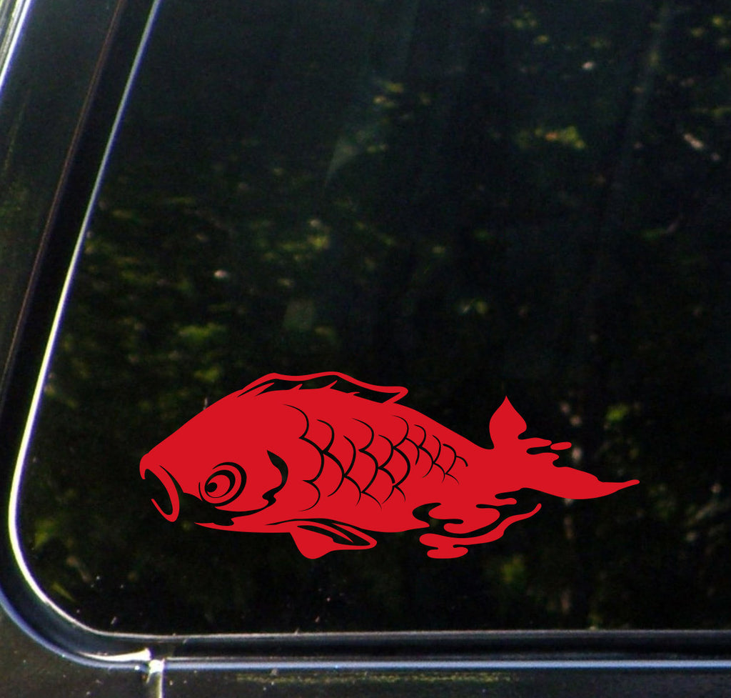 The Decal Store.com - by Yadda-Yadda Design Co. - CAR - Swimming Koi ...