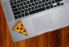 "CLR:TP - Pepperoni Pizza Slice - Slice of Pizza - Vinyl Laptop Trackpad Tablet Decal © YYDC (2.25""w x 3""h)"