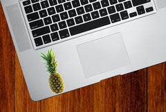 "CLR:TP - Realistic Tropical Pineapple - Laptop Trackpad Tablet iPad Vinyl Decal - © 2015 YYDC (1.5""w x 3.5"")"