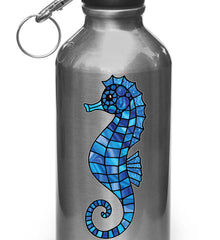 CLR:WB - Seahorse - Stained Glass Style - Vinyl Decal for Bottle | Flask | Thermos - ©2016 YYDC (VARIATIONS AVAILABLE)