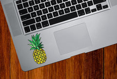 CLR:TP - Pineapple Stained Glass Style - Vinyl Decal for Trackpad | Tablet | Phone © YYDC
