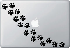 PATT - Cat Pawprint - Cat Paw - Vinyl Decal Stickers (Color Choices) (Pack of 16 or 48)