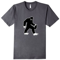 TS-102 - Sasquatch w Beer Growler - Bigfoot Craft Beer Lover - T-Shirt - Copyright 2016 Yadda-Yadda Design Co