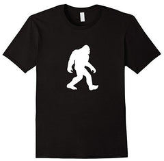 TS-108 - Sasquatch Silhouette - Bigfoot - Yeti - T-Shirt - Copyright 2016 Yadda-Yadda Design Co.