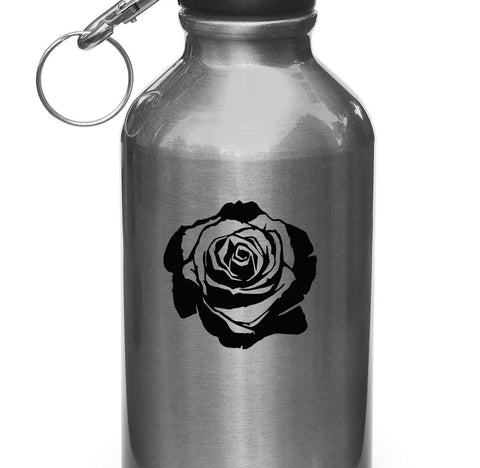 "WB - Rose Blossom - Vinyl Decal Sticker for Water Bottles | Helmets| Outdoor Use - ©YYDC (2.5""dia)(Color Choices)"