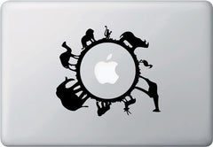 "MB - Animal Planet - Macbook or Laptop Vinyl Decal (6.25""w x 4.5""h) (Color Choices)"