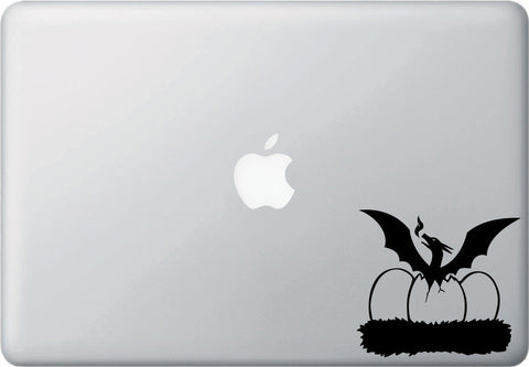 "MB - Dragon Hatching - D1 - Macbook or Laptop Decal - © YYDC (4""w x 3.5""h) (Color Choices)"