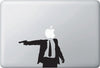 MB - SPY / SECRET AGENT MAN - Macbook Vinyl Decal Sticker (Size Choices) (BLACK)