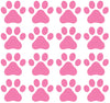 "PATT - Small Dog Paw Prints - Vinyl Decals for Walls and Indoor Use - (2.25""w x 2""h)(Color Choices) (Pack of 16 or 48)"