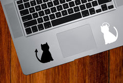 TP - Cat Angel and Devil - Trackpad Tablet Vinyl Decal Sticker - Copyright © Yadda-Yadda Design Co. (Variations Available)