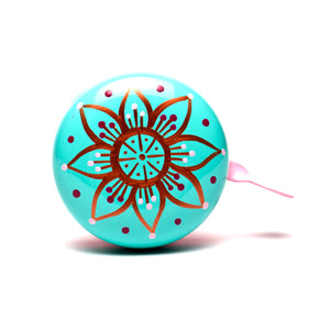 Beep Mandala Flower Bicycle Bell