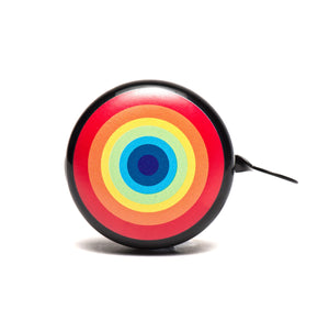 Beep Rainbow Bicycle Bell (Black)