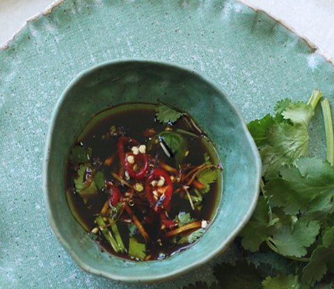 gluten free coriander and chilli sauce recipe