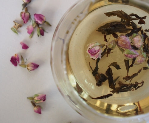 Oolong rose tea, premium loose leaf tea