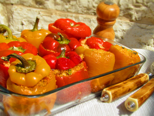 Bulgur Stuffed Peppers