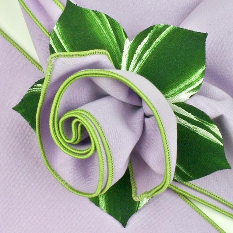 Set of Four Bouquet Napkin Rings