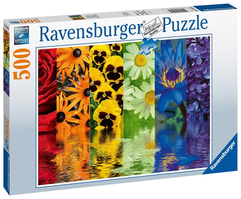 500 Pc Puzzle Floral Reflections