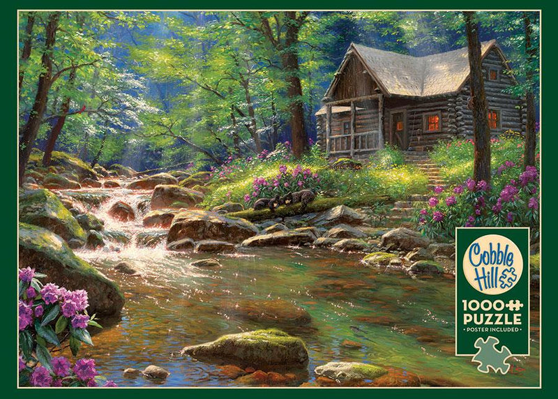 1000 Pc Puzzle - Fishing Cabin