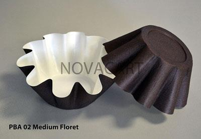 Novacart Pack of 25 Medium Floret Cups | Kitchen Art