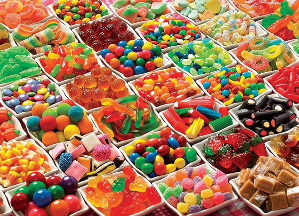 Cobble Hill 1000 Pc Puzzle - Sugar Overload | Wrapt