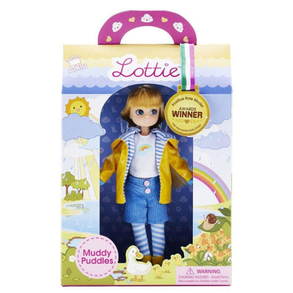 Lottie Muddy Puddles Doll | Wrapt | Kitchen Art