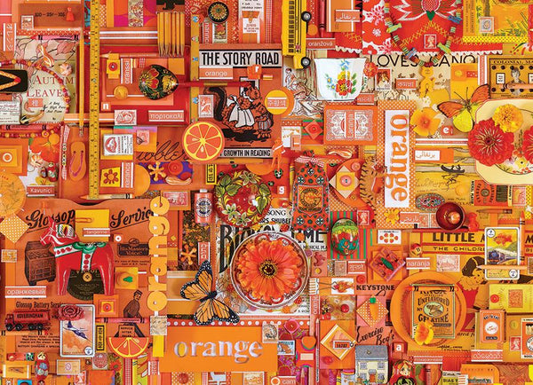 Cobble Hill 1000 Pc. Puzzle - Orange | Wrapt