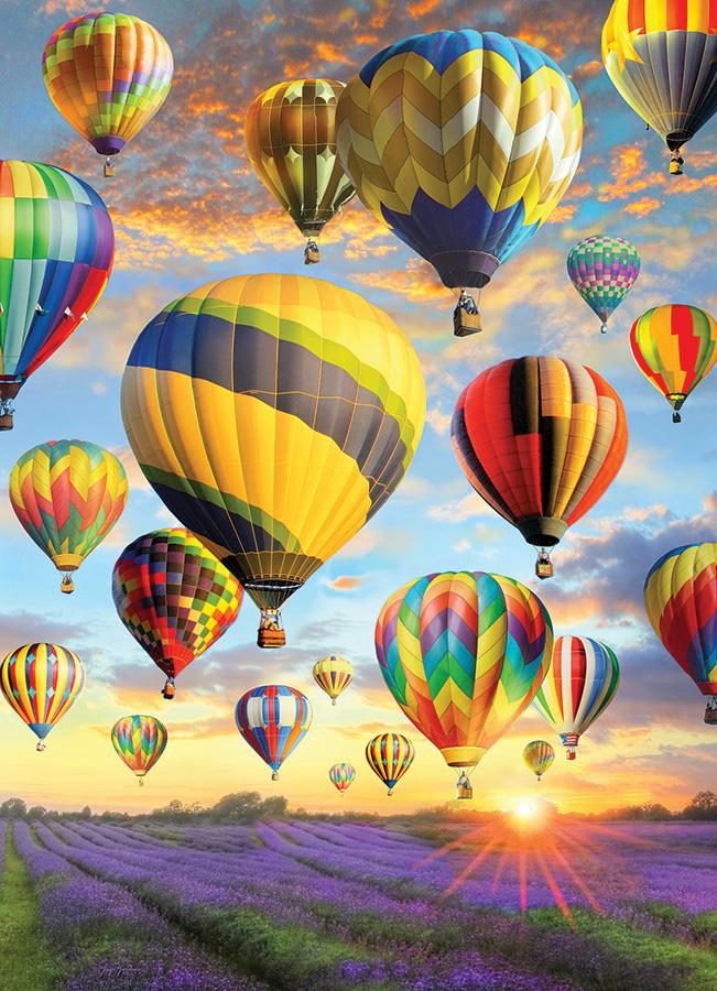 1000 Piece Puzzle - Hot Air Balloons
