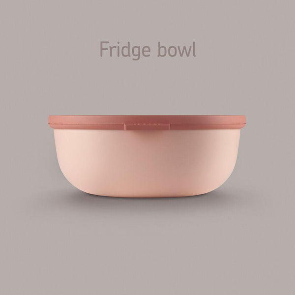 Mepal Cirqula Bowl - 2.25L Blush | Kitchen Art