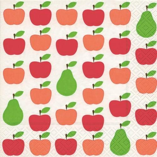 Apples and Pears Luncheon Napkins | Kitchen Art | Wrapt