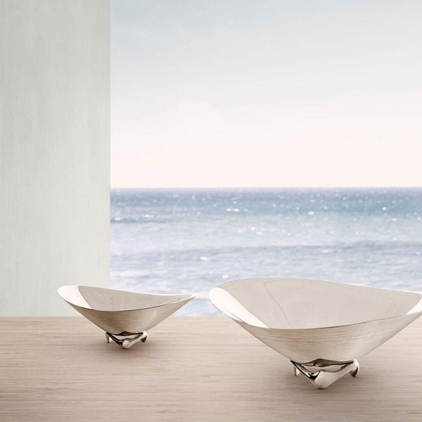 Georg Jensen Wave Bowl by Henning Koppel