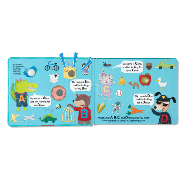 Melissa & Doug Poke-a-Dot - Alphabet Eye Spy | Wrapt