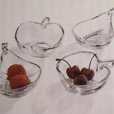 Set of Four Bowls - Apple/Pear