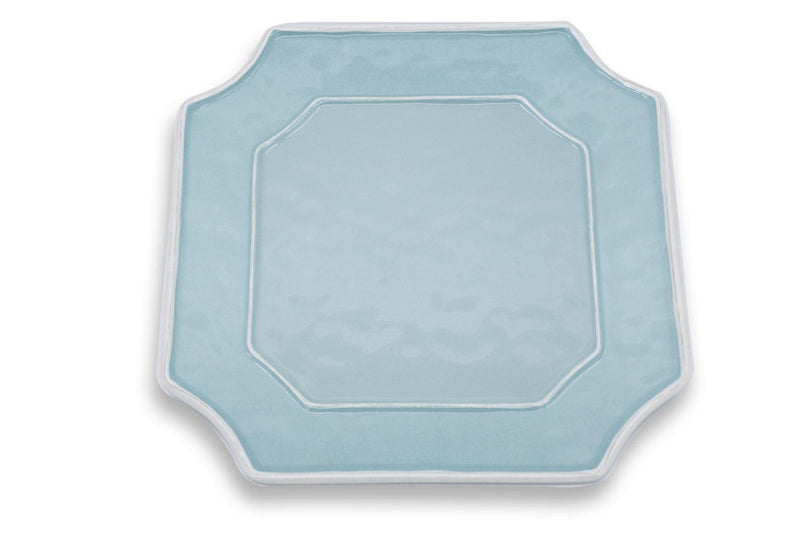 Square Platter - Blue Charleston